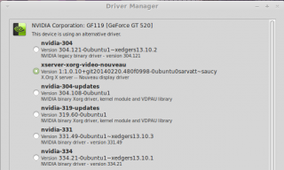 Post-xedgers Driver Manager
